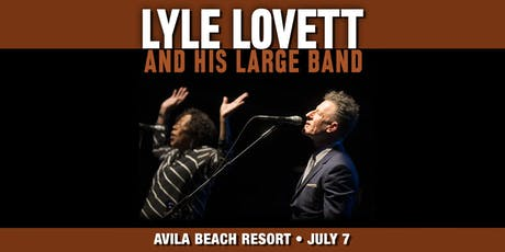 Lyle Lovett and His Large Band tickets