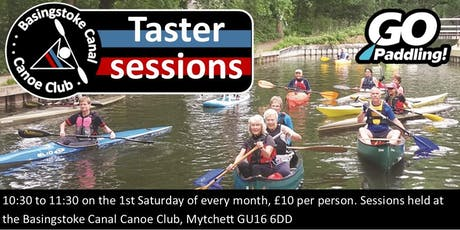 BCCC Canoeing Taster Sessions! tickets