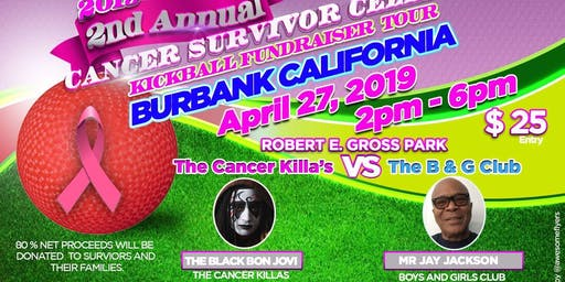 "THE 2019 CANCER SURVIVOR CELEBRITY KICKBALL FUNDRAISER TOUR ""BURBANK """