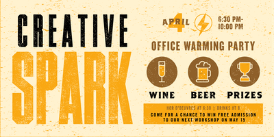 Creative Spark: Office Warming Party