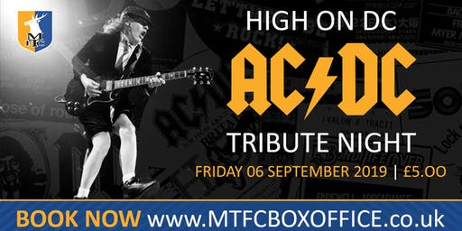 AC/DC Rock Tribute Night with High On DC