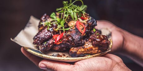 Free Jerk Wings: Yardies Caribbean Smokehouse: Pop-Up Experience @ 1066 South Fairfax Avenue tickets