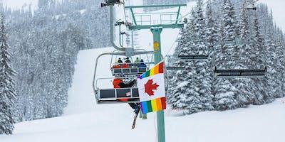 Pride Ski #2: Marmot Basin Familiarization with Mountain Hosts!