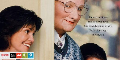 Eat|See|Hear Outdoor Movie: Mrs. Doubtfire