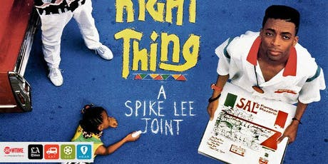Eat|See|Hear Outdoor Movie: Do The Right Thing tickets
