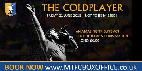 The Amazing Coldplayer - Tribute To Coldplay and Chris Martin tickets