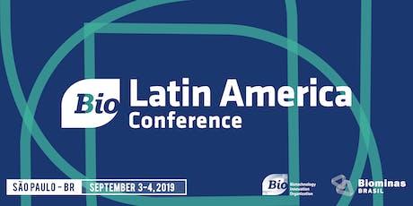 BIO Latin America 2019 | International Registration tickets