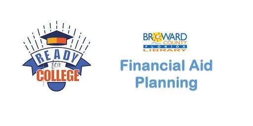 Financial Aid Planning @ Sunrise Dan Pearl Library