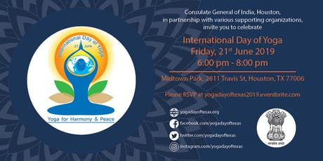 International Day of Yoga 2019 tickets