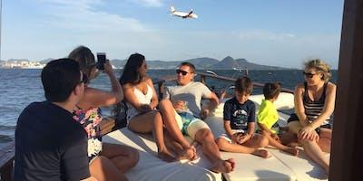 Passeio de barco toda Quinta 13:00! Every Thursday Rio Boat Cruise 1PM