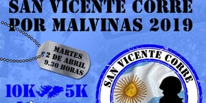 SAN VICENTE CORRE POR MALVINAS 2019