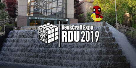 GeekCraft Expo RDU 2019 tickets