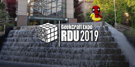 GeekCraft Expo RDU 2019