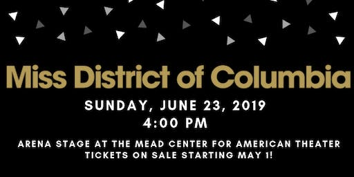 2019 Miss District of Columbia Competition