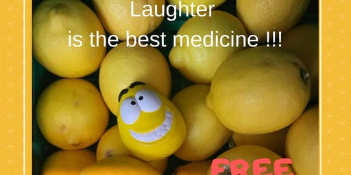 Laughter Yoga Club.Free Entry! 20 bookings max. Every 3rd Thursday of the month.