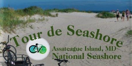 Tour de Seashore - Assateague National Seashore, MD - 13 mile cycle tour tickets