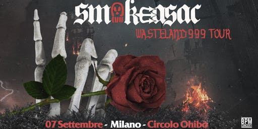 Smokeasac in concerto all'Ohibò