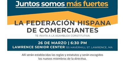 Federacion Hispana de Comerciantes - Asamblea Constitutiva