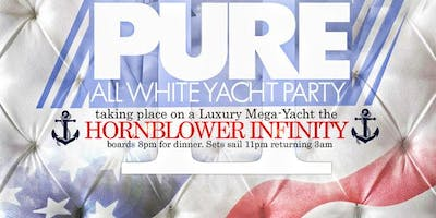 Pure: Annual All White Father's Day Mega Yacht Dinner Cruise