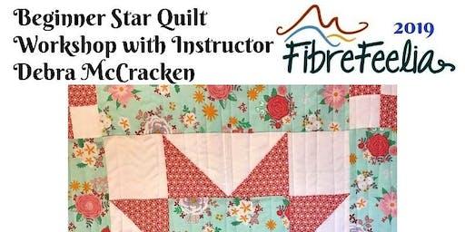 Beginner Star Quilt Workshop with Instructor Debra McCracken