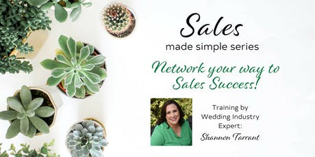 Network your way to success - by Shannon Tarrant tickets