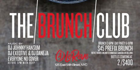 TD Group Present: Bottomless Brunch + Day Party (The Brunch Club) tickets
