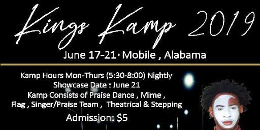 KINGS KAMP/CONCERT TOUR 2019 (Mobile,AL)