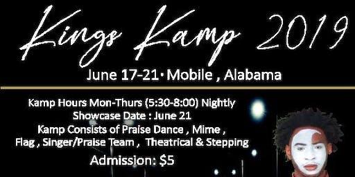 KINGS KAMP/CONCERT TOUR 2019 (Mobile,AL)