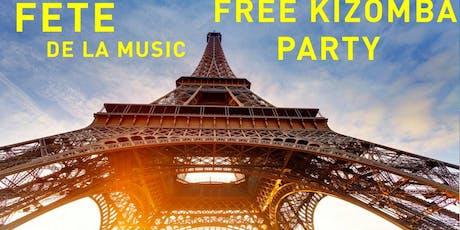 fete de la musique kizomba  billets
