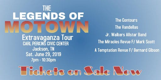 The Legends of Motown Extravaganza Tour