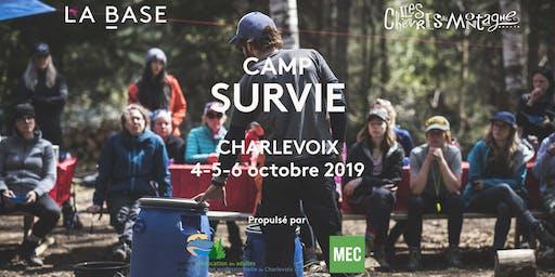 Camp Survie - Édition Automne 2019