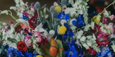 JULY 2   Intro to Centerpiece Design: Red, White + Blue Theme  tickets