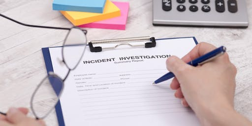 Advanced Incident Investigation Training for WHS Professionals - Perth