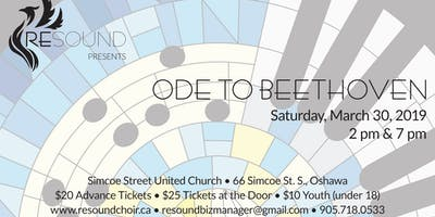 """Ode to Beethoven\"" Concert"