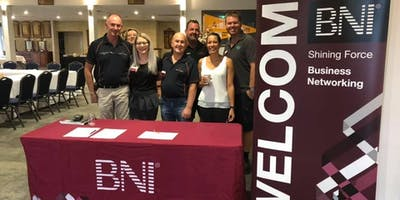 BNI Shining Force Canning Vale Visitor Ticket