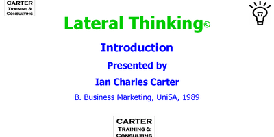 Lateral Thinking FREE Introduction