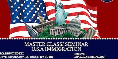 MASTER CLASS/SEMINAR USA IMMIGRATION
