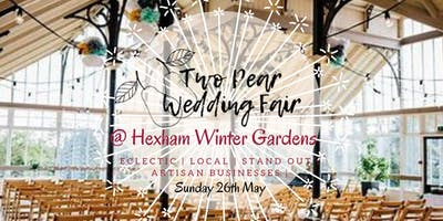 Two Pear Wedding Fair | Hexham Winter Gardens