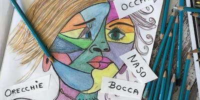 Artisti Bambini -  Italian art lessons for kids 3-5yrs (Mondays 9.30-10.30)