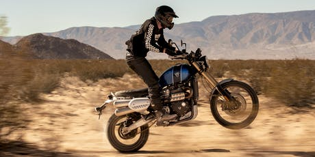 Triumph Scrambler 1200 XE Test Ride tickets