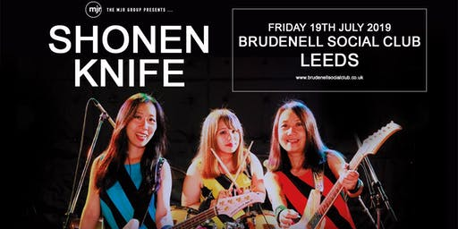 Shonen Knife (Brudenell Social Club, Leeds)