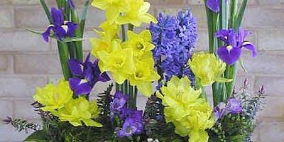 Make Spring Flower Arrangement