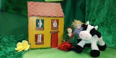 Bookmark Jack The Beanstalk Storytelling Puppet Making