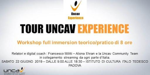 TOUR UNCAV EXPERIENCE PADOVA