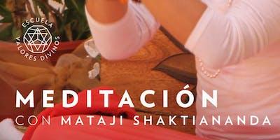Meditación Guiada por Mataji Shaktiananda   Todos los Miércoles   7:30PM (MIA)