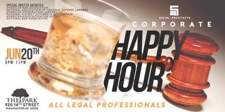 THE CORPORATE HAPPY HOUR - LEGAL PROFESSIONALS tickets