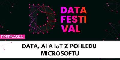 Data, umělá inteligence a IoT z pohledu Microsoftu