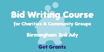 Bid Writing Charities Community Groups Course