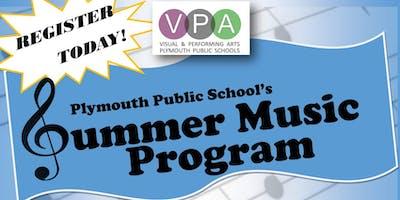2019 Summer Music Program