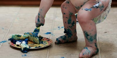 Rainbow Messy play for children from 0 - 5 and siblings up to 8 yrs old DSCC 29/05/2019